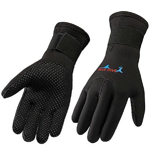 Bluedive Дайвинг Перчатки 3mm Нейлон / неопрен Полный палец Сохраняет тепло, Износостойкий, Многофункциональный Дайвинг / катание на