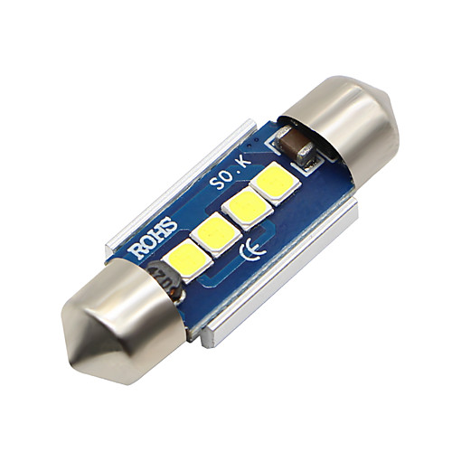 SO.K 2pcs T11 / 31mm Автомобиль Лампы 3 W SMD 5730 300 lm Светодиодная лампа Внутреннее освещение цена