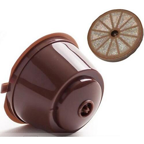 Refillable Nescafe Dolce Gusto Capsules Reusable Pods Filters Cup