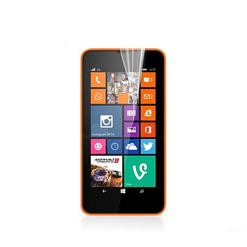 Защитная плёнка для экрана Nokia для Nokia Lumia 635 PET 3 ед. Ультратонкий защитная пленка для мобильных телефонов 3pcs nokia lumia 730 735
