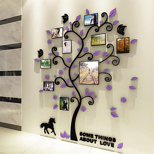 Фото наклейки - 3D наклейки ботанический Гостиная / Спальня