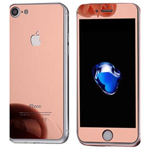 Защитная плёнка для экрана для Apple iPhone 7 Закаленное стекло 1 ед. Защитная пленка для экрана и задней панели Зеркальная поверхность