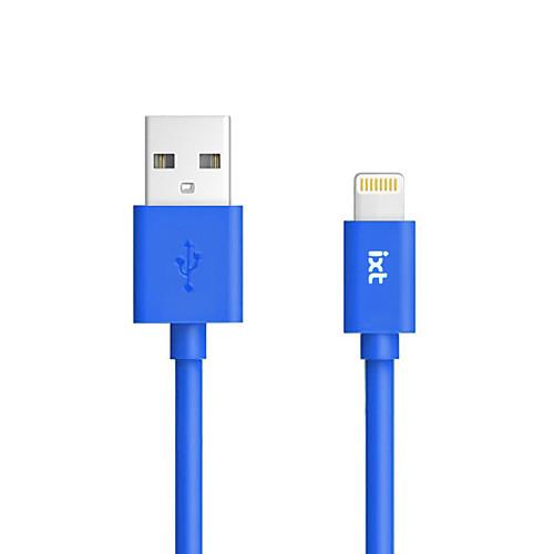 Подсветка Адаптер USB-кабеля Кабель для зарядки Для передачи данных Кабель Нормальная Кабели Кабель Назначение iPad Apple iPhone 90 cm