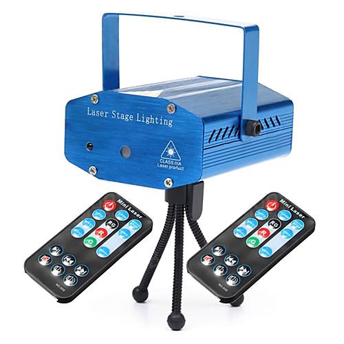 U'King LED PAR-прожектор Портативные Простая установка На пульте управления Активация звуком Зеленый Красный