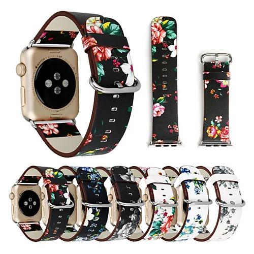Ремешок для часов для Apple Watch Series 4/3/2/1 Apple Классическая застежка Натуральная кожа Повязка на запястье фото