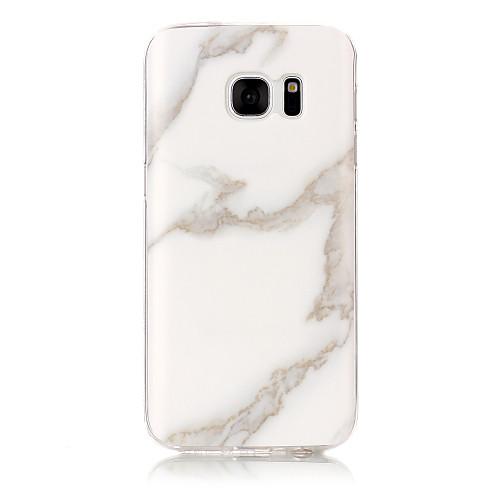 Кейс для Назначение SSamsung Galaxy S7 edge S7 IMD Кейс на заднюю панель Мрамор Мягкий ТПУ для S7 edge S7 S6 edge S6 S5 S4 S3 все цены