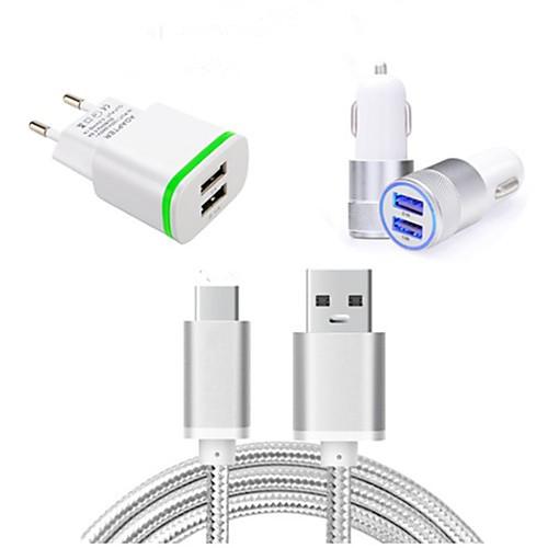 Автомобильное зарядное устройство Зарядное устройство для дома Телефон USB-зарядное устройство Евро стандарт Зарядное устройство и зарядное устройство 100