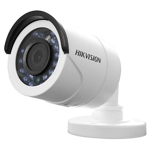 HIKVISION DS-2ce16c0t-л HD720P ИК камера пули (IP66 водонепроницаемый 20м ИК аналоговый выход HD умный 1MP) умный сад в подробностях