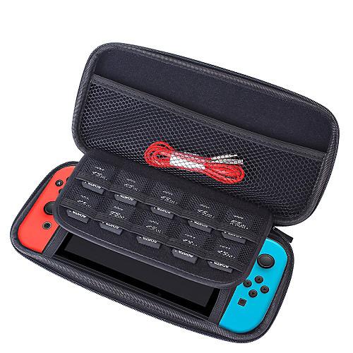 Сумки, чехлы и накладки Назначение Nintendo Переключатель,Кожа Сумки, чехлы и накладки Портативные