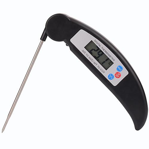 складной мгновенного чтения приготовления пищи термометр высокопроизводительным цифровой термометр мяса еды