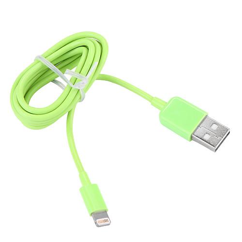 USB 3.0 / Подсветка Кабель / Кабель для зарядки / Для передачи данных Нормальная Кабель iPad / Apple / iPhone для 100 cm Назначение пластик кабель