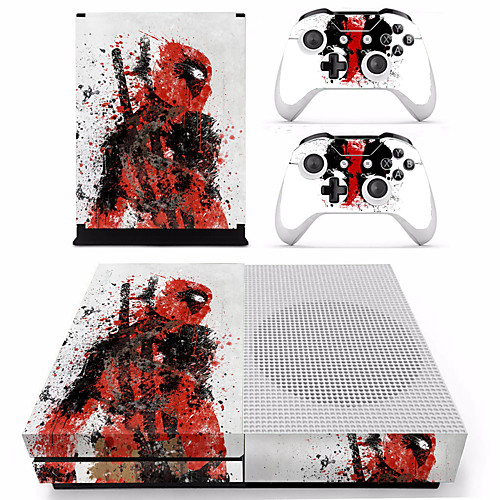 B-SKIN XBOX ONE S PS/2 Стикер - Xbox One S Оригинальные Беспроводной # wood grain oak 01 holiday bundle decal style skin set fits xbox one console kinect and 2 controllers xbox system sold separately