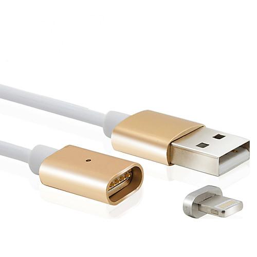 Подсветка Кабель / Кабель для зарядки / Для передачи данных Нормальная / Магнитный Кабель iPad / Apple / iPhone для 100 cm Назначение пластик кабель