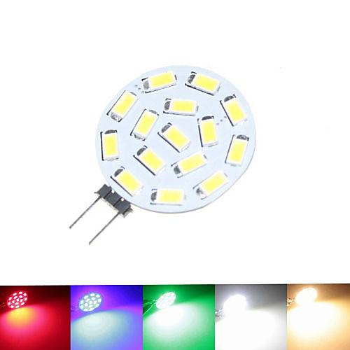 SENCART 1,5 Вт 100-150 lm G4 Точечное LED освещение MR11 15 светодиоды SMD 5630 Диммируемая Тёплый белый Естественный белый Зеленый Синий