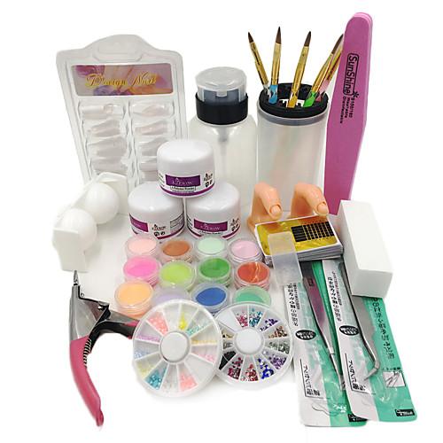 1SET Инструмент для ногтей / Наборы и наборы для ногтей Изысканный и современный / модный Дизайн ногтей