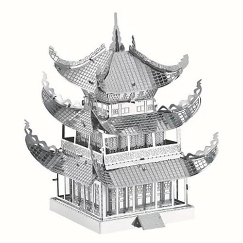 3D пазлы / Пазлы / Металлические пазлы Знаменитое здание / Китайская архитектура Творчество / Своими руками / Cool Изысканный и