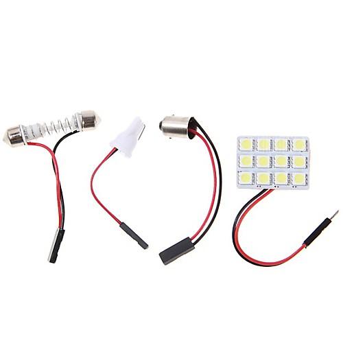 2pcs BA9S Автомобиль Лампы 4.5W SMD 5050 320lm Светодиодная лампа Внутреннее освещение цена