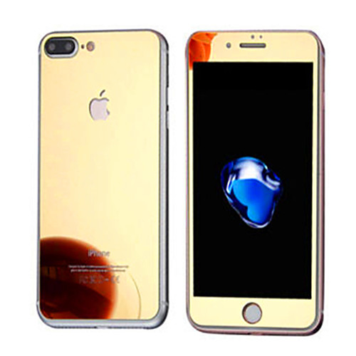 Защитная плёнка для экрана Apple для iPhone 7 Plus Закаленное стекло 1 ед. Защитная пленка для экрана и задней панели Зеркальная