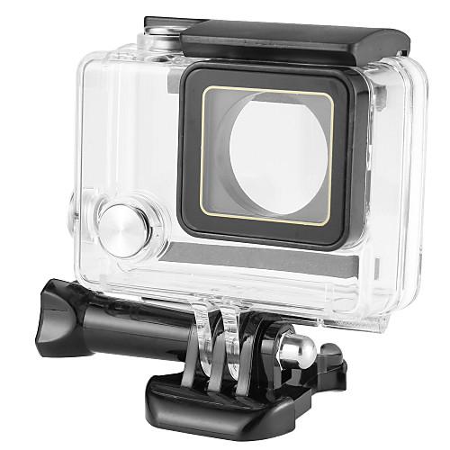 защитный футляр / Водонепроницаемые кейсы Кейс Водонепроницаемый / 40 м / На заказ Для Экшн камера Gopro 4 / Gopro 4 Silver / Gopro 4 Session пластик / Металл - 1 pcs / Gopro 3 / Gopro 3