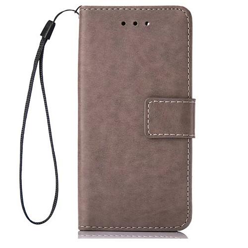 Кейс для Назначение LG K8 LG LG K4 LG K10 LG K7 LG G5 Бумажник для карт Кошелек со стендом Флип Чехол Сплошной цвет Твердый Кожа PU для кейс для назначение lg k8 lg lg k5 lg k4 lg k10 lg k7 lg g5 lg g4 бумажник для карт кошелек со стендом флип чехол сплошной цвет твердый