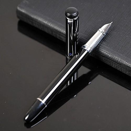 сверхтонкая серебряная ручка для перьев (черный) для школы / офиса