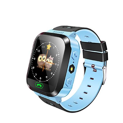 Детские часы GPS Сенсорный экран Педометры Регистрация дистанции Анти-потерянный Контроль сообщений Хендс-фри звонки Длительное время