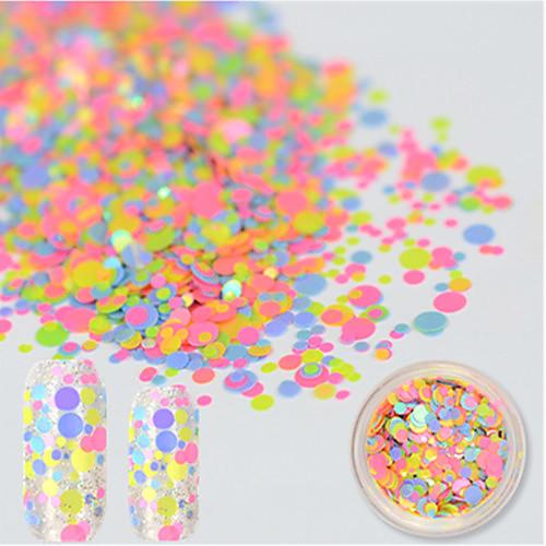 1 bottle Декоративные аксессуары Шаблон шаблона для ногтей Дизайн ногтей Очаровательный Аксессуары для инструментов Nail Art DIY 3D