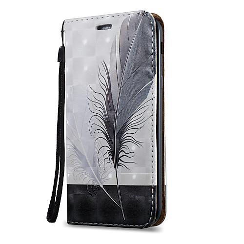 Купить Кейс Для Назначение Ssamsung Galaxy A5(2017) / A3(2017) Бумажник Для Карт / Со Стендом / Флип Чехол Перья Твердый Кожа Pu Для A3 (2017) / A5 (2017) / A7 (2017)
