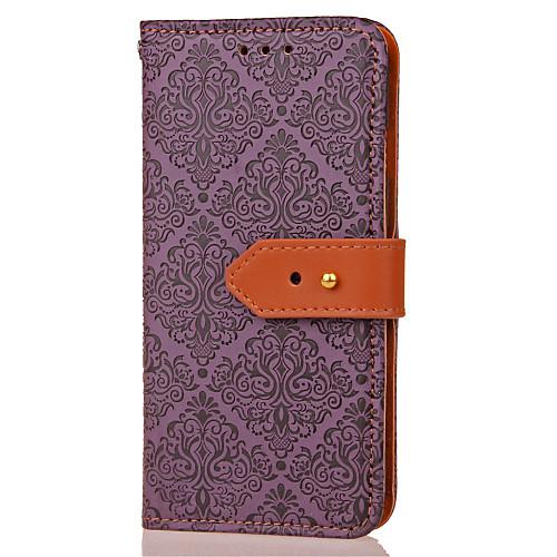 Кейс для Назначение LG G3 LG LG G5 LG G4 Бумажник для карт Кошелек со стендом Флип С узором Рельефный Чехол Цветы Твердый Кожа PU для LG чехол для для мобильных телефонов mega lg g3 for lg g3