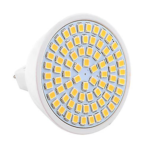 7W 500-700lm GU5.3(MR16) Точечное LED освещение MR16 72 Светодиодные бусины SMD 2835 Декоративная Тёплый белый Холодный белый