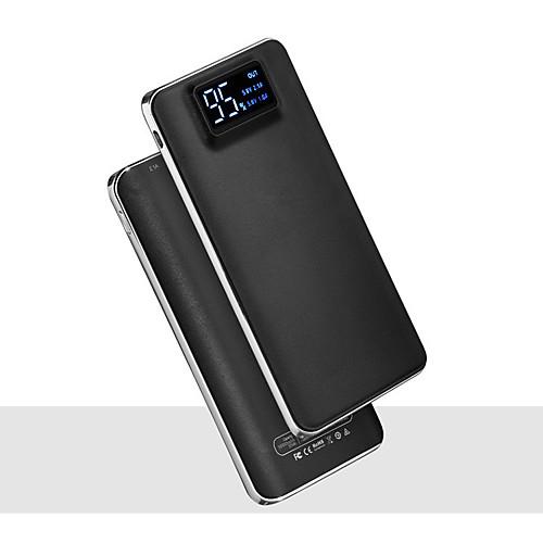 Купить со скидкой 20000 мАч 5 В 2a портативное зарядное устройство powerbank фонарик со светодиодным смарт-цифровой ди