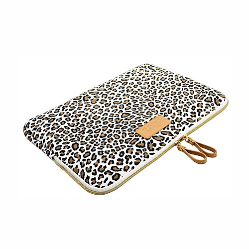Sleeves Leopard Print Canvas for Macbook Pro 13-inch / Macbook Air 11-inch / MacBook Air 13-inch