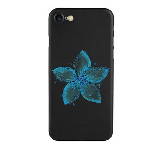 Кейс для Назначение Apple iPhone 7 Plus iPhone 7 С узором Кейс на заднюю панель Цветы Мягкий ТПУ для iPhone 7 Plus iPhone 7 iPhone 6s