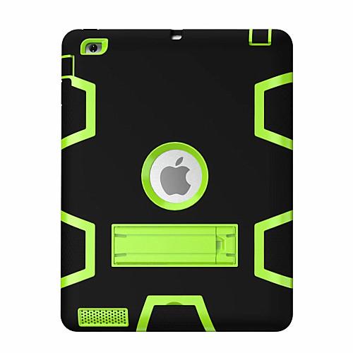 Кейс для Назначение Apple iPad Mini 4 iPad Mini 3/2/1 iPad 4/3/2 iPad Air 2 iPad Air Защита от удара со стендом Поворот на 360° Чехол гибкий кабель для мобильных телефонов for apple 20pcs lot usb flex ipad 2 ipad 6 dhl ems air 2