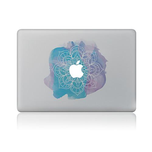 1 ед. Наклейки для Защита от царапин Цветы Узор PVC MacBook Pro 15'' with Retina MacBook Pro 15 '' MacBook Pro 13'' with Retina MacBook накладка daav для macbook air 13 retina оранжевый