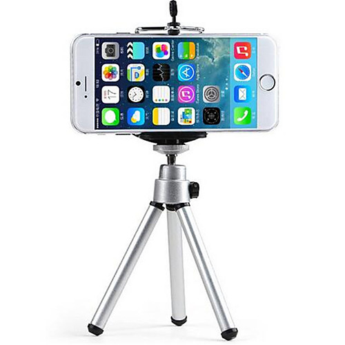 Bed / Desk / Outdoor Universal / Mobile Phone Mount Stand Holder Tripod Universal / Mobile Phone Metal Holder