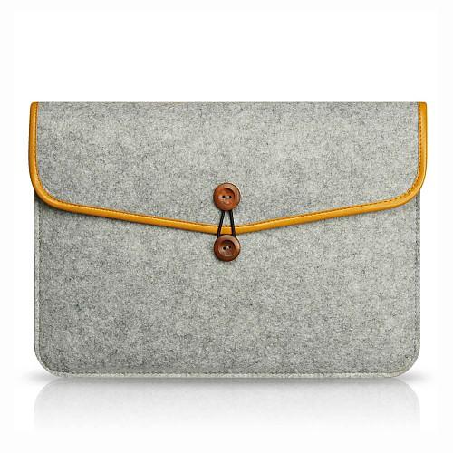 Рукава Однотонный текстильный для MacBook Air, 13 дюймов / MacBook Air, 11 дюймов / MacBook Pro, 15 дюймов с дисплеем Retina 20 дюймов