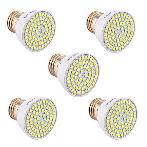 YWXLIGHT 5 шт. 5W 400-500lm GU10 GU5.3(MR16) E26 / E27 Точечное LED освещение 72 Светодиодные бусины SMD 2835 Декоративная Тёплый белый