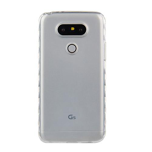 Кейс для Назначение LG G3 LG K8 LG LG K5 LG K4 LG K10 LG K7 LG G5 LG G4 Защита от удара Прозрачный Кейс на заднюю панель Сплошной цвет клип кейс oxy fashion fine для lg k8