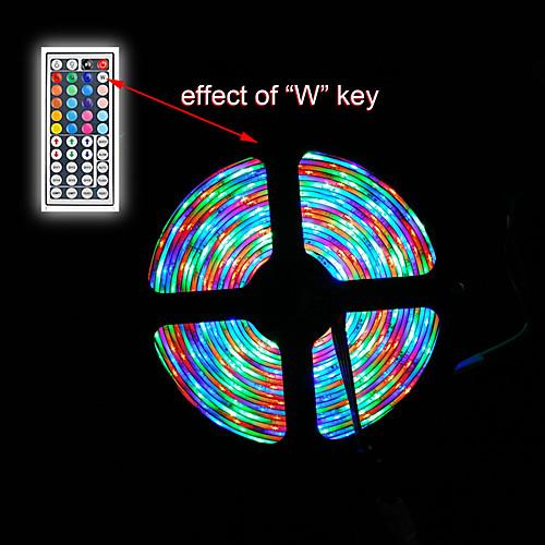 ZDM Наборы ламп светодиоды RGB Пульт управления Можно резать Диммируемая Водонепроницаемый Меняет цвета Самоклеющиеся Компонуемый DC 12 от MiniInTheBox.com INT
