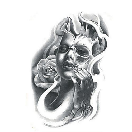 Временные тату Прочее Non Toxic WaterproofЖенский Мужской Подростки Вспышка татуировки Временные татуировки временные татуировки мнетату золотое временное тату сова