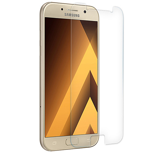 Защитная плёнка для экрана для Samsung Galaxy A7 (2017) Закаленное стекло 1 ед. Защитная пленка для экрана Уровень защиты 9H / Взрывозащищенный фото
