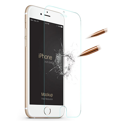Защитная плёнка для экрана для Apple iPhone 6s Plus / iPhone 6 Plus Закаленное стекло 1 ед. Защитная пленка для экрана HD / Уровень аксессуар защитная плёнка monsterskin 360 s clear для apple iphone 6 plus