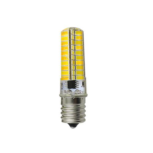 3W 130-150lm E17 LED лампы типа Корн T 80 Светодиодные бусины SMD 5730 Декоративная Тёплый белый Холодный белый 12V 220-240V цена
