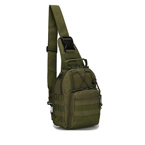 3.5 L Походные рюкзаки / Сумки через плечо / Бумажники - Водонепроницаемость, Дожденепроницаемый, Теплоизоляция На открытом воздухе Отдых и Туризм, Охота, Рыбалка Оксфорд Python Mud Цвет, Python