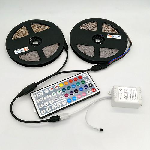 ZDM RGB ленты 600 светодиоды RGB Пульт управления Можно резать Диммируемая Самоклеющиеся DC 12 В DC 12V