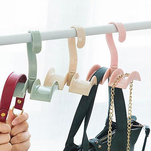 пластик Открытые Главная организация, 1шт Крючки Крючки для сумок Организация одежды Вешалки для галстуков