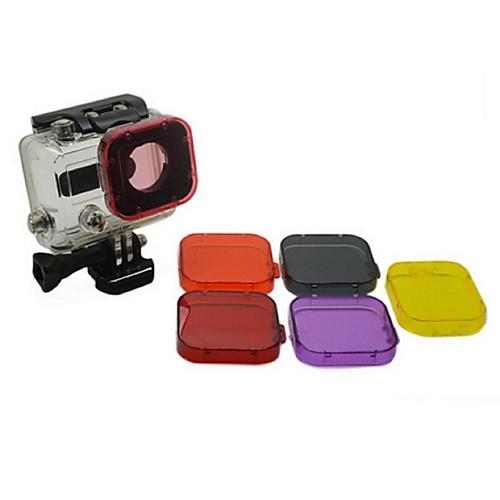 Аксессуары Погружение фильтр Высокое качество Для Экшн камера Gopro 3 Спорт DV Дайвинг