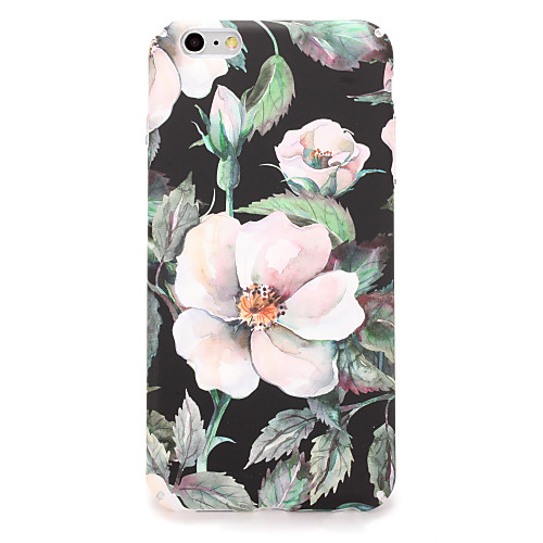 Кейс для Назначение Apple iPhone 7 Plus iPhone 7 С узором Кейс на заднюю панель Цветы Твердый ПК для iPhone 7 Plus iPhone 7 iPhone 6s ic cnc milling machine mould for iphone 6s 6s 7 7