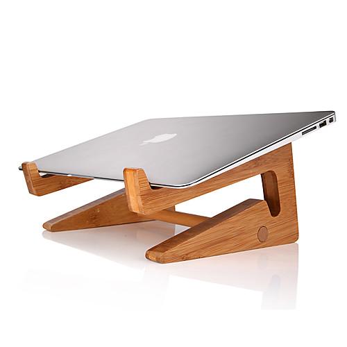 Устойчивый стенд для ноутбука Macbook / Ноутбук / Для планшета Other деревянный Macbook / Ноутбук / Для планшета складывающаяся подставка для ноутбука подходит для ноутбука планшета а также для теплоотводящей подставки под ноутбук